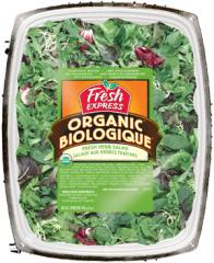 Organic Fresh Herb Salad, Clamshell
