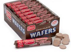Necco Original Chocolate Wafers Candy