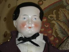 "China Gentleman RARE 24"" Circa 1850-60"