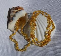 Amber Necklace Mommy and Me Set - Reece - Olive