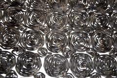 Black and White Satin Roses