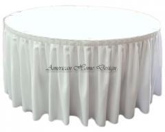 14 ft Poliester Table Skirts