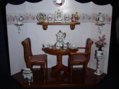 Reuter Miniature Dining Room Box