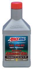 Premium API CJ-4 Synthetic 5W-40 Diesel Oil