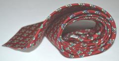 Mens necktie silk personalized monogrammed