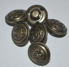 Navy club suit or vest buttons