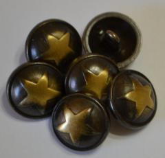 Sheriff Star Western style buttons