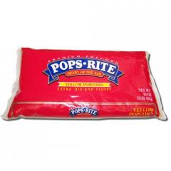 Pops-Rite Bag Popcorn - Yellow (twenty-four 16-oz.