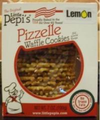 6 each of 7 oz Lemon Pizzelles