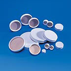 Fisherbrand White Polypropylene Caps with...