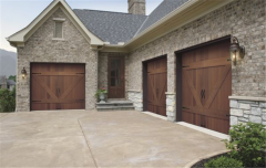 Wood Collection Garage Door