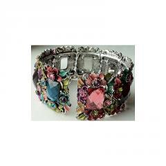 All Flowers one of a kind bracelet