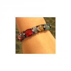 Austrian Multi Crystal Bracelet