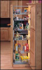 5250-09CR 4 Basket Pull-Out Pantry