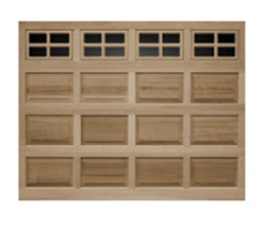 Model 44 Raised Panel Wood Garage Door