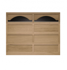 Model 20/10 Recessed Panel Wood Garage Door
