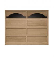 Model 20/10 Recessed Panel Wood Garage Door