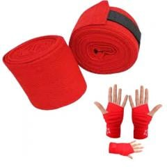 Boxing/Mma Hand Wraps Bandages 100% Cotton Inner Gloves