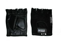 Ts-18 Real Cow Leather Black Color Training Gloves