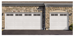 Model 8300 & 8500 Wayne Dalton Steel Garage Door
