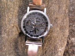 Mechanical Skeleton Hand Wind Copper Watch