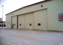 Bottom Rolling Hangar Doors