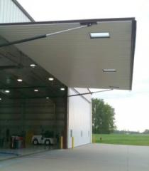 Single Panel Hydraulic Door