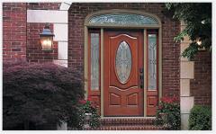 Classic-Craft Mahogany Entry Door