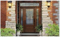 Classic-Craft Oak Entry Door