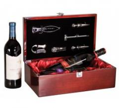 Double Wine Presentation Box with Tools