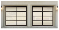 Model 8850 Wayne Dalton Aluminum Garage Door