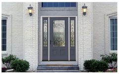 Profiles Steel Entry Door