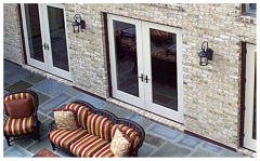 Classic-Craft Canvas French / Hinged Patio Door