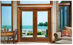 Classic-Craft Oak French / Hinged Patio Door