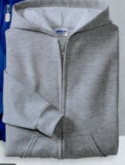 Gildan Youth Heavy Blend Full Zip Hooded