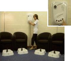 The AV4 Multi Professional Foot Spa System