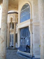 Tapered Limestone Columns