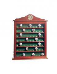 63 Golf Ball Display Case Cabinet with...