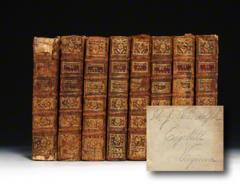 Thomas Jefferson's Copy Of The Memoirs Of The Duke