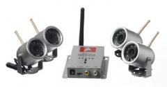 Four Night Vision Wireless Weatherproof Security