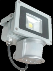 10W LED Flood Light - With Motion Sensor