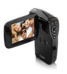 Coby CT-CAM4002 SNAPP Digital Swivel Camcorder and