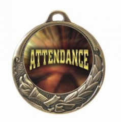 Attendance Medal - Victory Torch