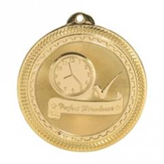 "Attendance Medal - 2"" Diam BriteLazer(TM)"