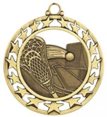 "LaCrosse Medal - 2-1/2"" Diameter (SSM)"