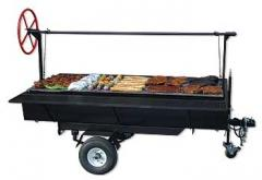 Grills to Go® Wood Towable Grill