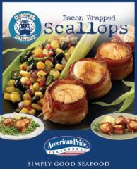 Coastal Harvest™ Bacon Wrapped Scallops