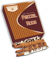 10 ct. Assorted Chocolate and Caramel Pretzel Rods
