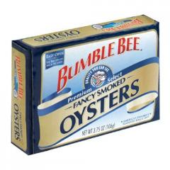 Bumble Bee® Smoked Oysters