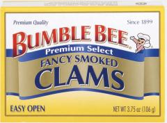 Bumble Bee® Fancy Smoked Clams